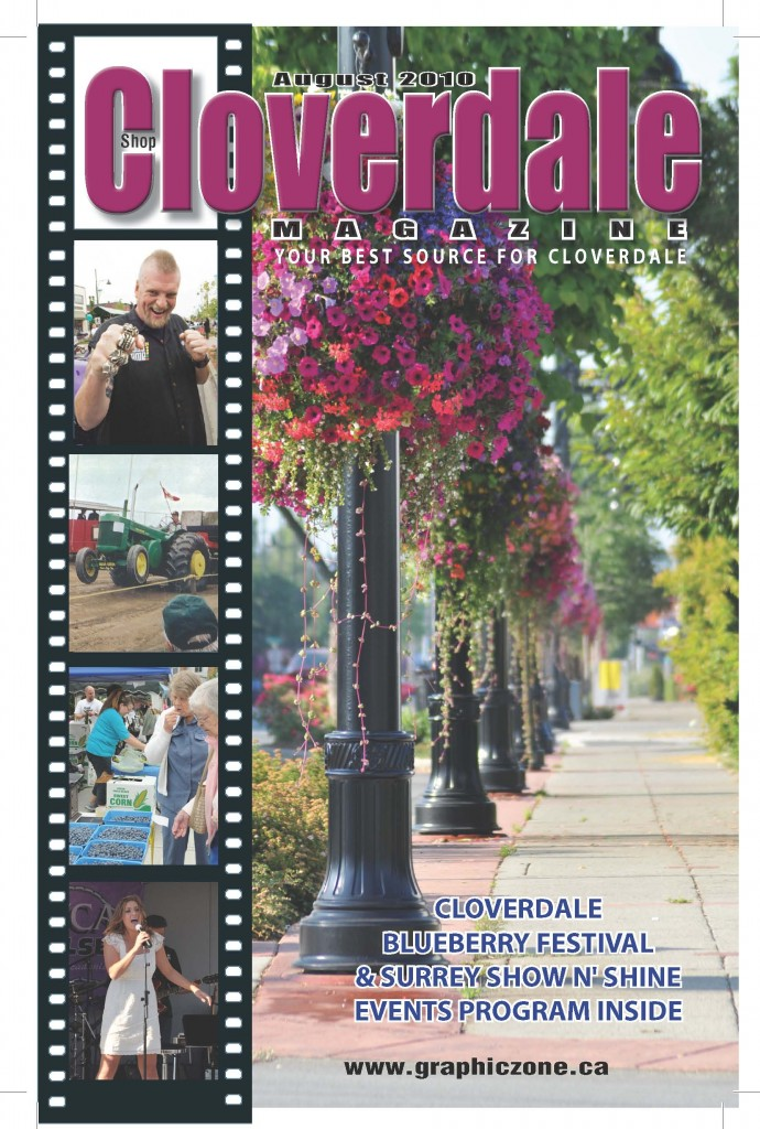 Cloverdale Magazine – Aug. 2010